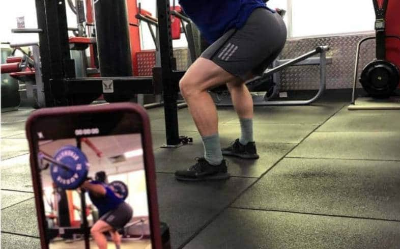 slow down your reps in squats