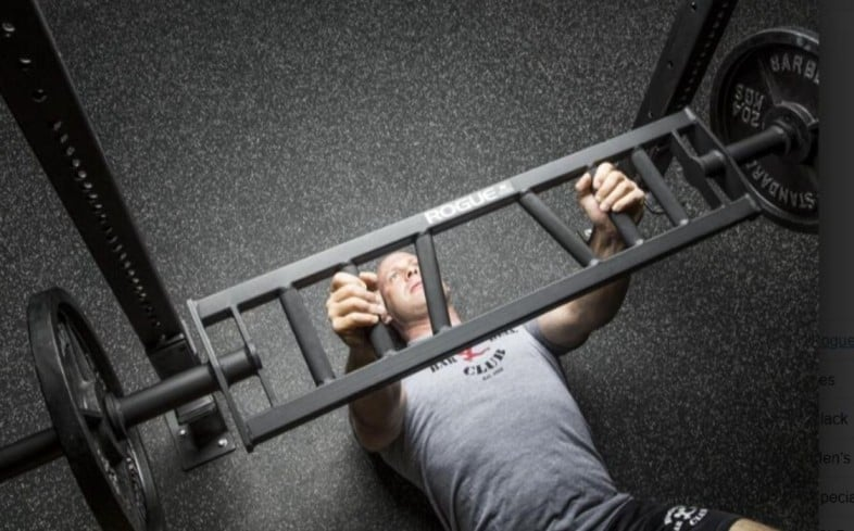 the swiss bar bench press is a bench press that utilizes the swiss bar