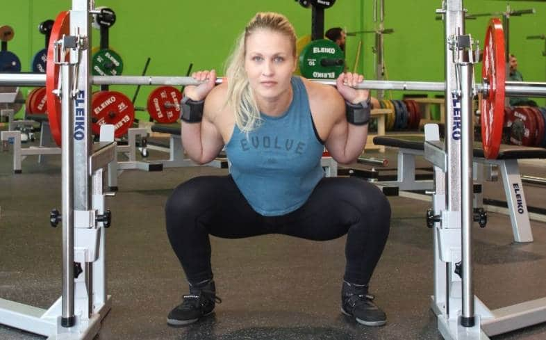 Wide stance squats involves standing with legs further apart than we typically would while squatting