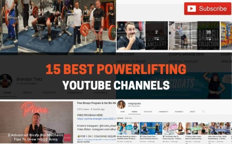 Best Powerlifting YouTube Channels