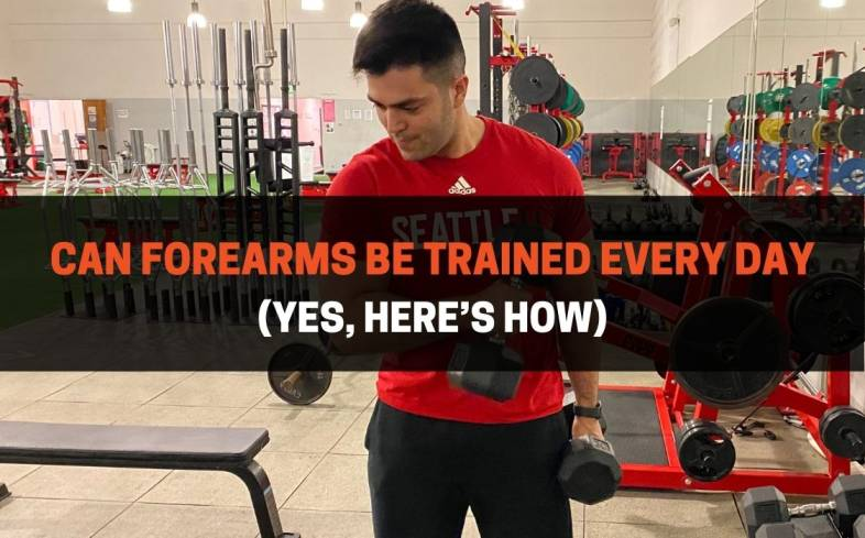 Can Forearms Be Trained Every Day Yes, Here's How