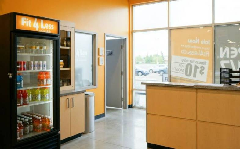 refrigerators at the front desk where you can buy drinks