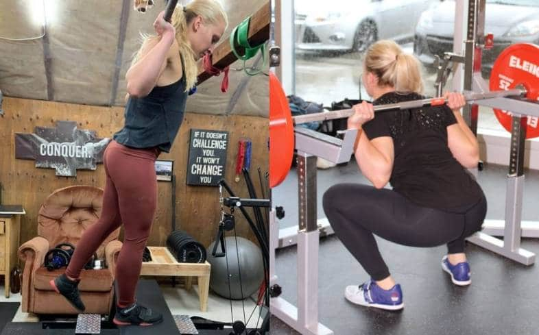 Step Ups vs Squats Muscles Used