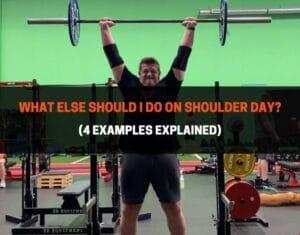 What Else Should I Do On Shoulder Day