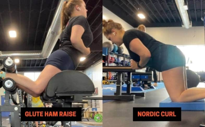 when to use the glute ham raise and nordic curl